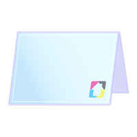 Folded Greeting Cards - 5x7 - Horizontal